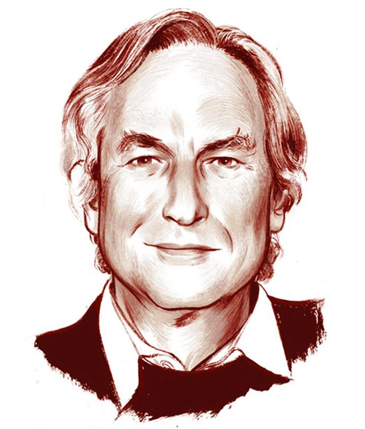 Galapagos explorer, Richard Dawkins