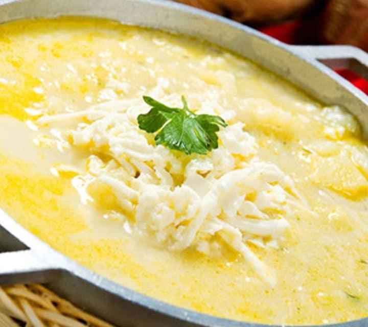 Potato & Cheese Soup