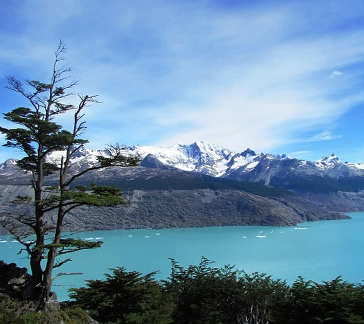 Deepest lake in the Americas, Lake Ohiggins in Patagonia