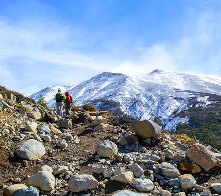 Adventure hiking in Patagonia