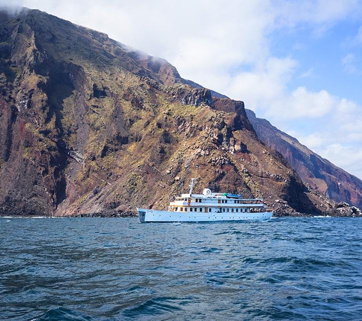 Grace Yacht exploring Galapagos Islands year-round