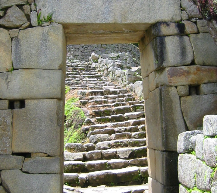 Machu Picchu's town construction is underground