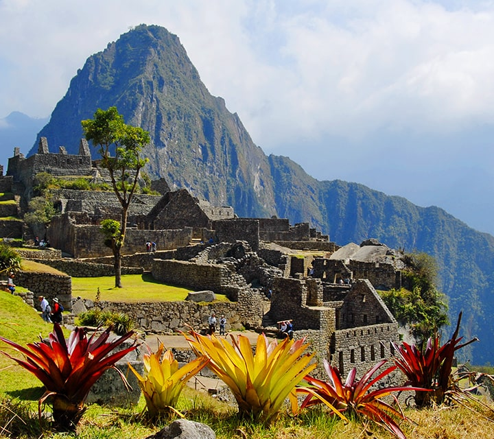 Machu Picchu, a resort town for ancient royal families to escape from the busy city of Cuzco