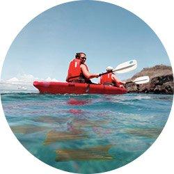 Galapagos Cruise Activity - Kayaking