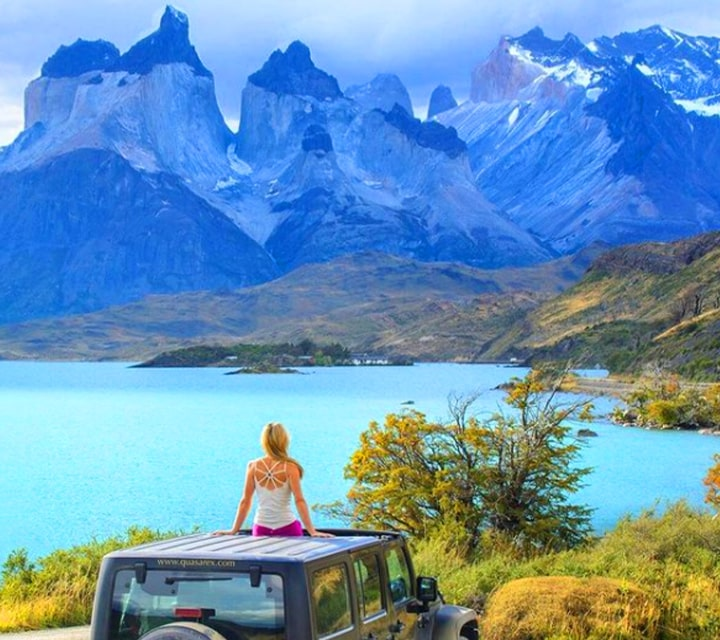 Lesley Murphy as guest of Quasar Expeditions in Torres del Paine