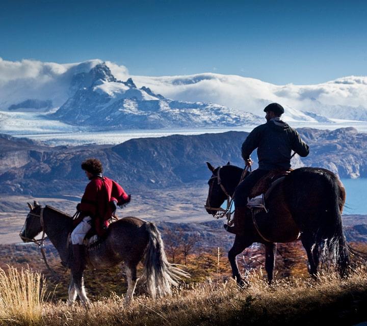 Horseback riding with Gauchos in Patagonia