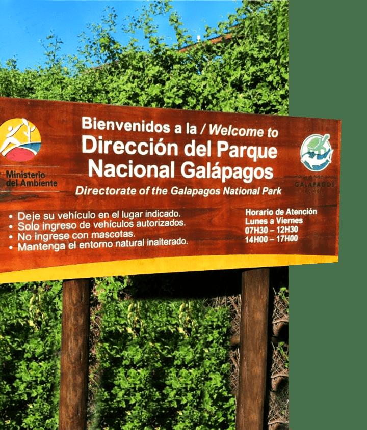 Bienvenidos a la / Welcome to Nacional Galapagos