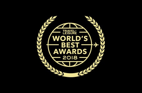 Travel+Leisure World's Best Award