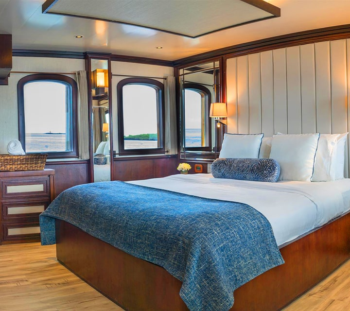 Luxurious and spacious staterooms on Grace Yacht