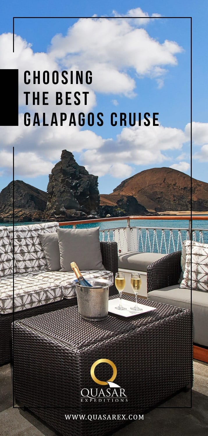 Choosing The Best Galapagos Cruise
