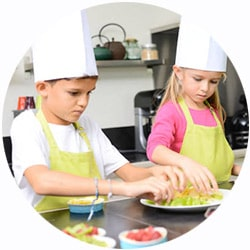 Kid-friendly cruise cooking classes