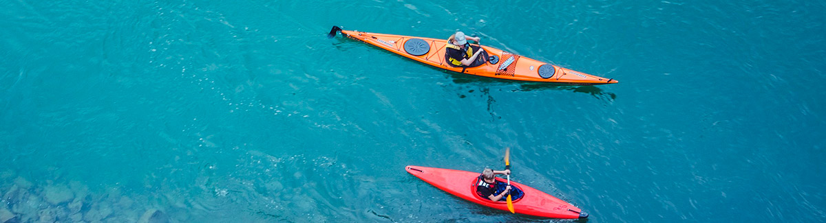Sea Kayaking on Family Cruises