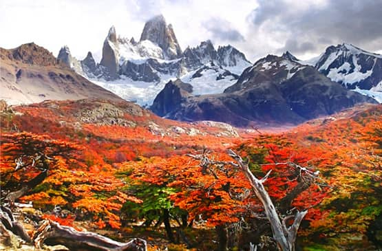 Travel to Patagonia in March & April