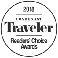 CN Traveler Readers Choice 2018