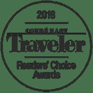 CN Traveler Readers Choice 2018