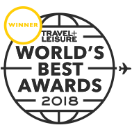 T+L Worlds Best Award 2018