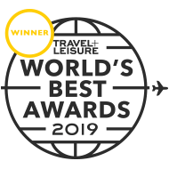 T+L Worlds Best Award 2019