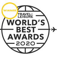 T+L Worlds Best Award 2020