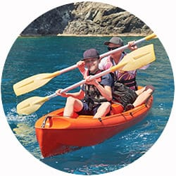 Galapagos Cruise Activity - Kayaking