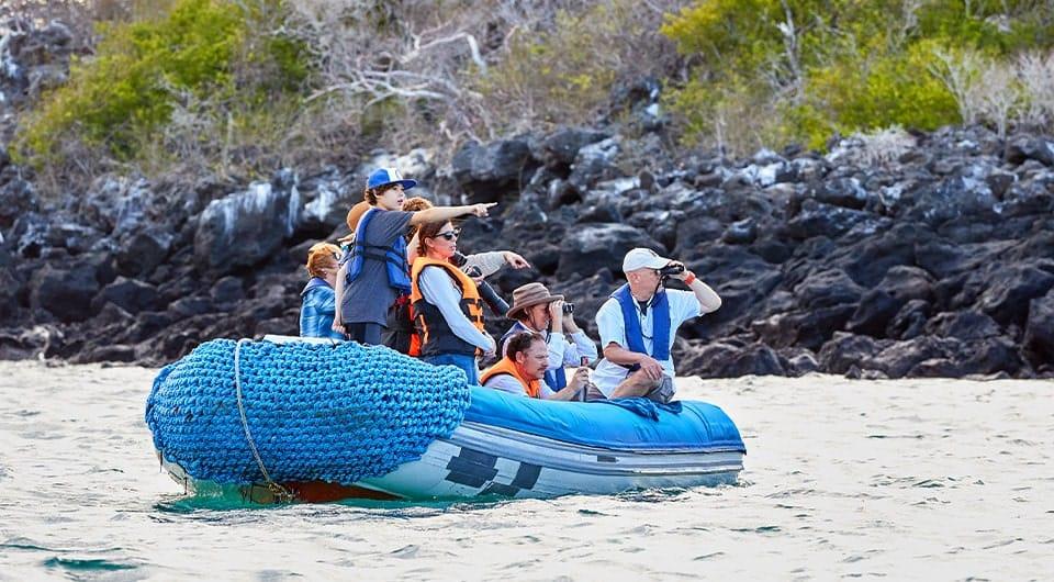 Zodiac Dinghy/Panga Rides in the Galapagos Islands