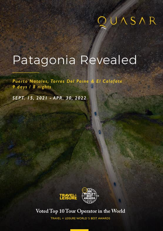 Patagonia Revealed Itinerary